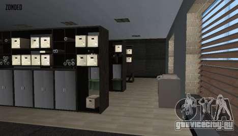 Ретекстур интерьера мэрии для GTA San Andreas седьмой скриншот