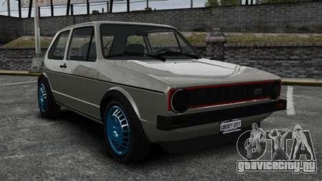 Volkswagen Golf MK1 GTI Update v2 для GTA 4