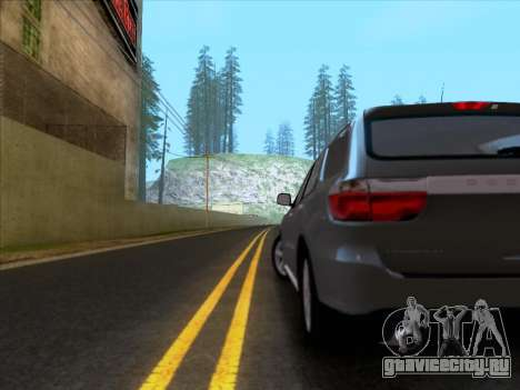 Dodge Durango Citadel 2013 для GTA San Andreas вид справа