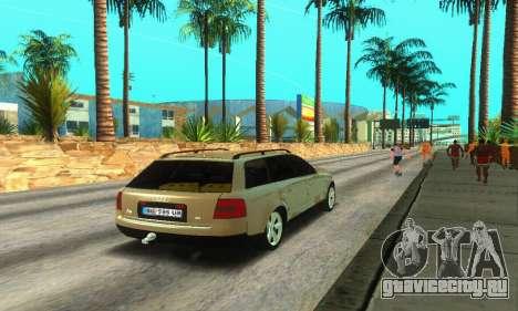 Audi A6 (C5) Avant для GTA San Andreas вид справа