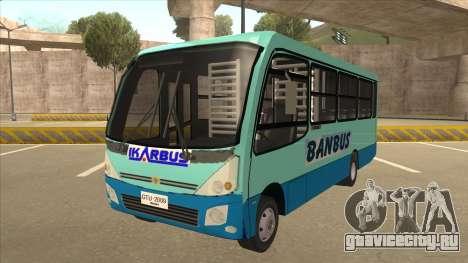 BANBUS Bus Srb. для GTA San Andreas