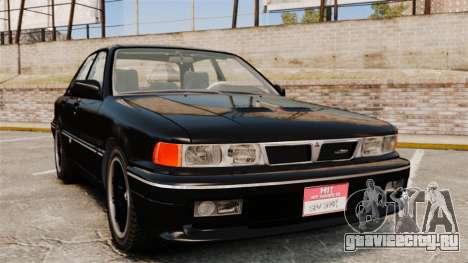 Mitsubishi Galant v2.0 для GTA 4