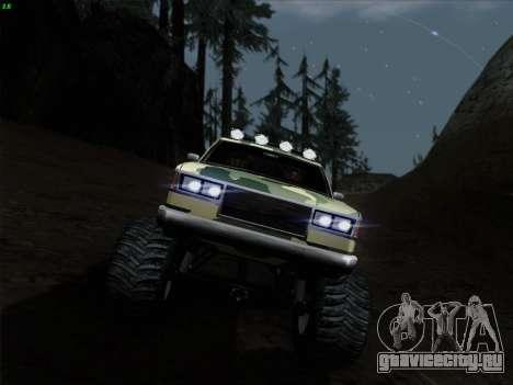 Камуфляж для Монстра для GTA San Andreas вид сбоку