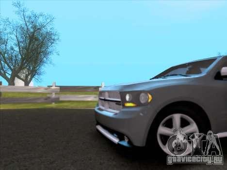 Dodge Durango Citadel 2013 для GTA San Andreas вид сбоку