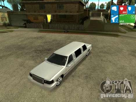 New Stretch для GTA San Andreas вид сзади