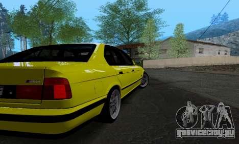 BMW M5 E34 IVLM v2.0.2 для GTA San Andreas вид справа