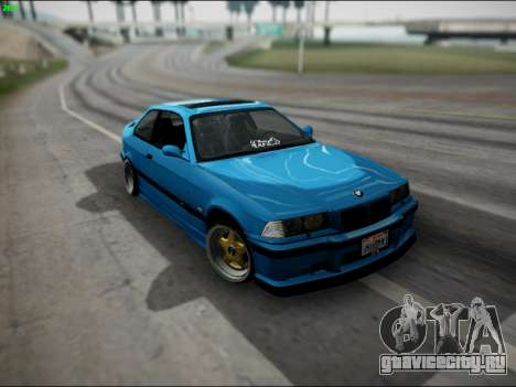 BMW M3 E36 Stance для GTA San Andreas салон