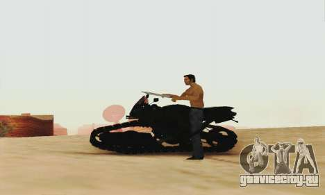 Mercenaries 2 Panzercycle для GTA San Andreas вид сзади слева