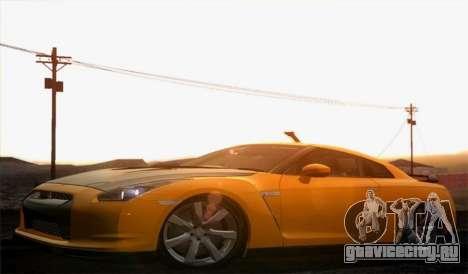 Nissan GT-R Carbon для GTA San Andreas