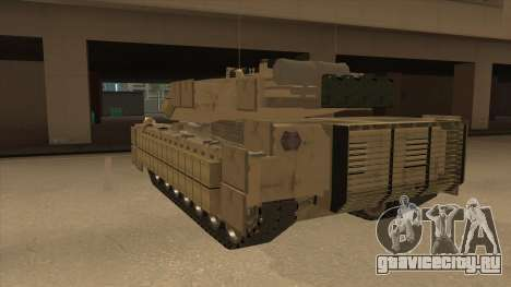 M69A2 Rhino Desierto для GTA San Andreas вид сзади