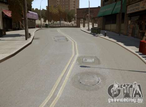 New Roads для GTA 4 пятый скриншот