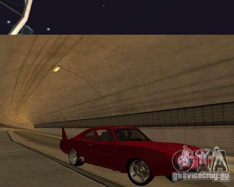 Dodge Charger Daytona для GTA San Andreas вид сверху