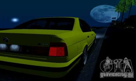 BMW M5 E34 IVLM v2.0.2 для GTA San Andreas салон