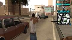 C-HUD by Kerro Diaz [ Aztecas ] для GTA San Andreas