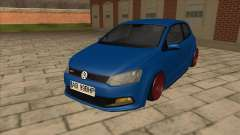 Volkswagen Polo GTi Euro Stance 2012 для GTA San Andreas