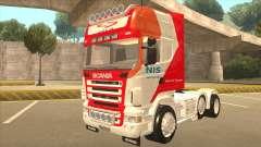 Scania R620 Nis Kamion для GTA San Andreas