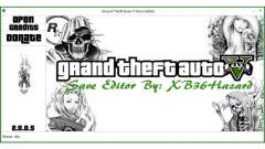 Grand Theft Auto V Save Editor by XB36Hazard для GTA 5