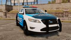 Ford Taurus 2010 Police Interceptor Detroit