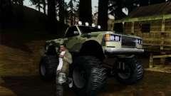 Камуфляж для Монстра для GTA San Andreas