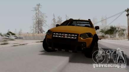 Fiat Strada Adv Locker для GTA San Andreas