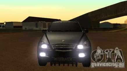 SsangYong New Kyron 2013 для GTA San Andreas