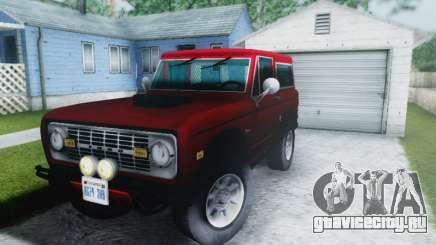 Ford Bronco 1966 для GTA San Andreas
