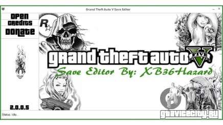 Grand Theft Auto V Save Editor by XB36Hazard для GTA 5