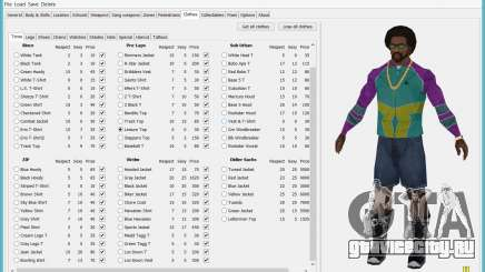 Savegame Editor v3.2 для GTA San Andreas