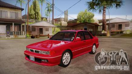 Mitsubishi Galant VR-4 (E39A) 1987 HQLM для GTA San Andreas