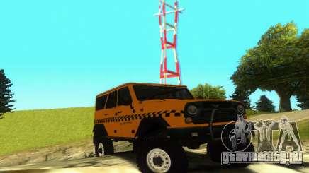 УАЗ Hunter Такси для GTA San Andreas