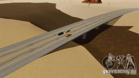 Локация Deserted City для GTA 4 шестой скриншот