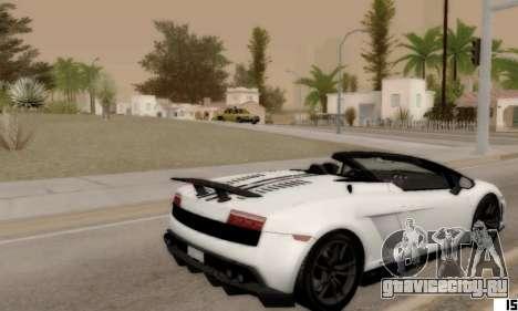 ENB VI для Low PCs для GTA San Andreas второй скриншот