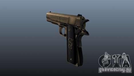 Пистолет M1911 v2 для GTA 4 второй скриншот