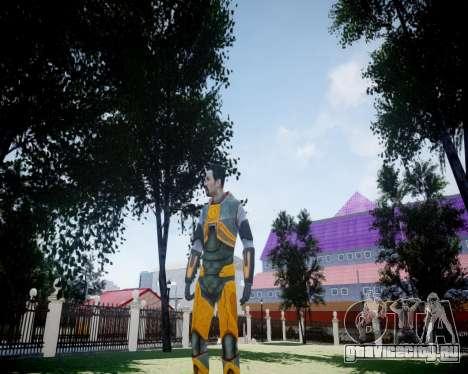 Gordon Freeman для GTA 4 шестой скриншот