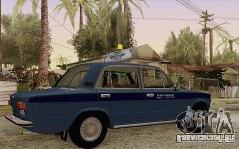 ВАЗ 21011 Аэрофлот для GTA San Andreas вид справа