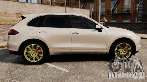 Porsche Cayenne Turbo 2012 v3.5 для GTA 4 вид слева