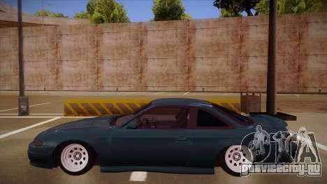 Nissan Silvia S14 Zenki для GTA San Andreas вид сзади слева