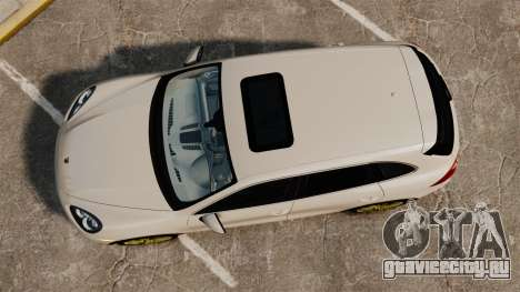 Porsche Cayenne Turbo 2012 v3.5 для GTA 4 вид справа