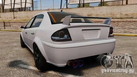 Тюнинг версия Premier для GTA 4 вид сзади слева