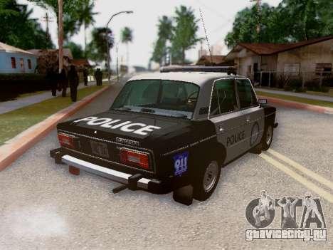 ВАЗ 2106 Полиция Лос Сантос для GTA San Andreas
