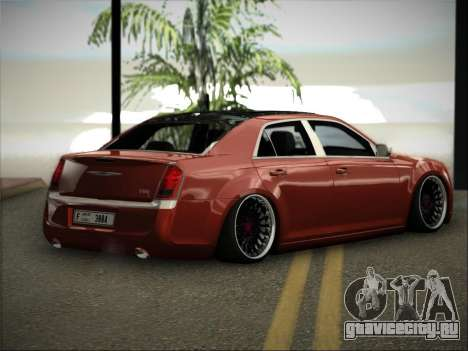 Chrysler 300C Stance для GTA San Andreas вид слева