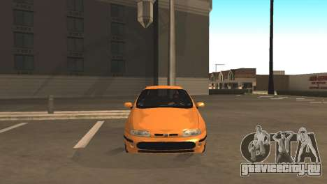 Fiat Bravo 16v для GTA San Andreas вид сзади слева