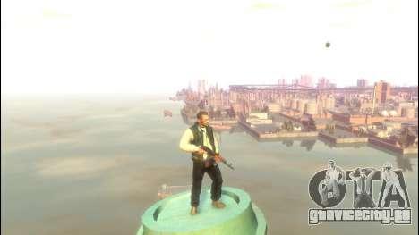 АКС-47 для GTA 4 третий скриншот