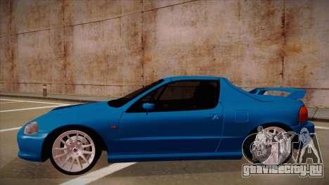 Honda CRX Del Sol для GTA San Andreas вид сзади слева
