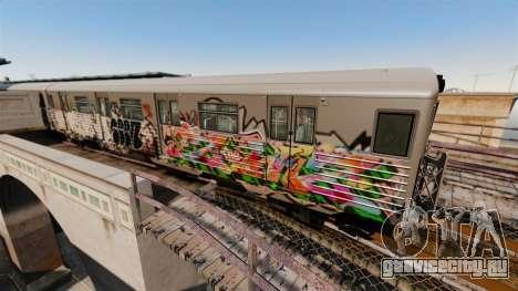 Новые граффити для Subway v3 для GTA 4