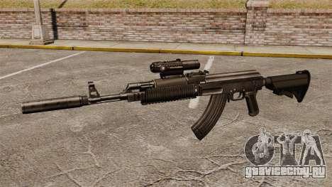 Автомат АК-47 (тактический) для GTA 4 третий скриншот