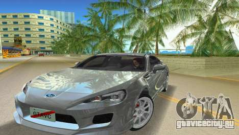 Subaru BRZ Type 3 для GTA Vice City