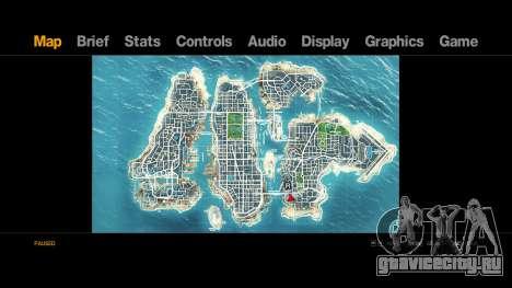 Map-Radar-HUD Pack для GTA 4 второй скриншот