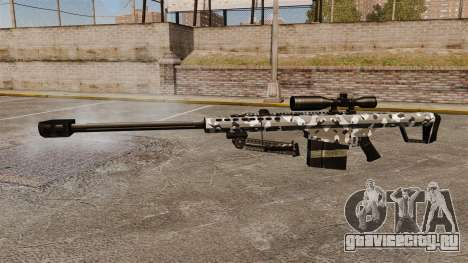 Снайперская винтовка Barrett M82 v15 для GTA 4 третий скриншот