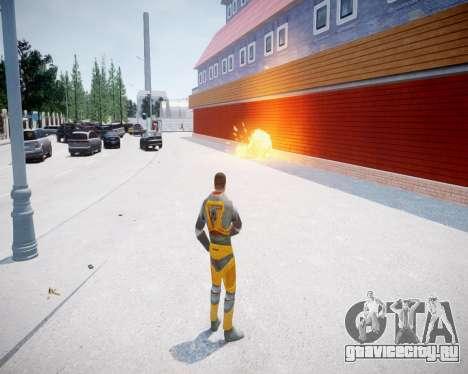 Gordon Freeman для GTA 4 четвёртый скриншот